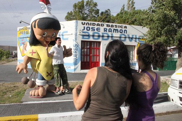 Arte en las calles de Comandante Piedrabuena