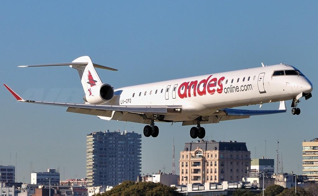 Aerolíneas Andes crece en Argentina