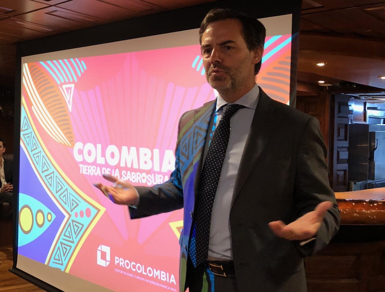 Julián Guerrero, vicepresidente de Turismo para Procolombia