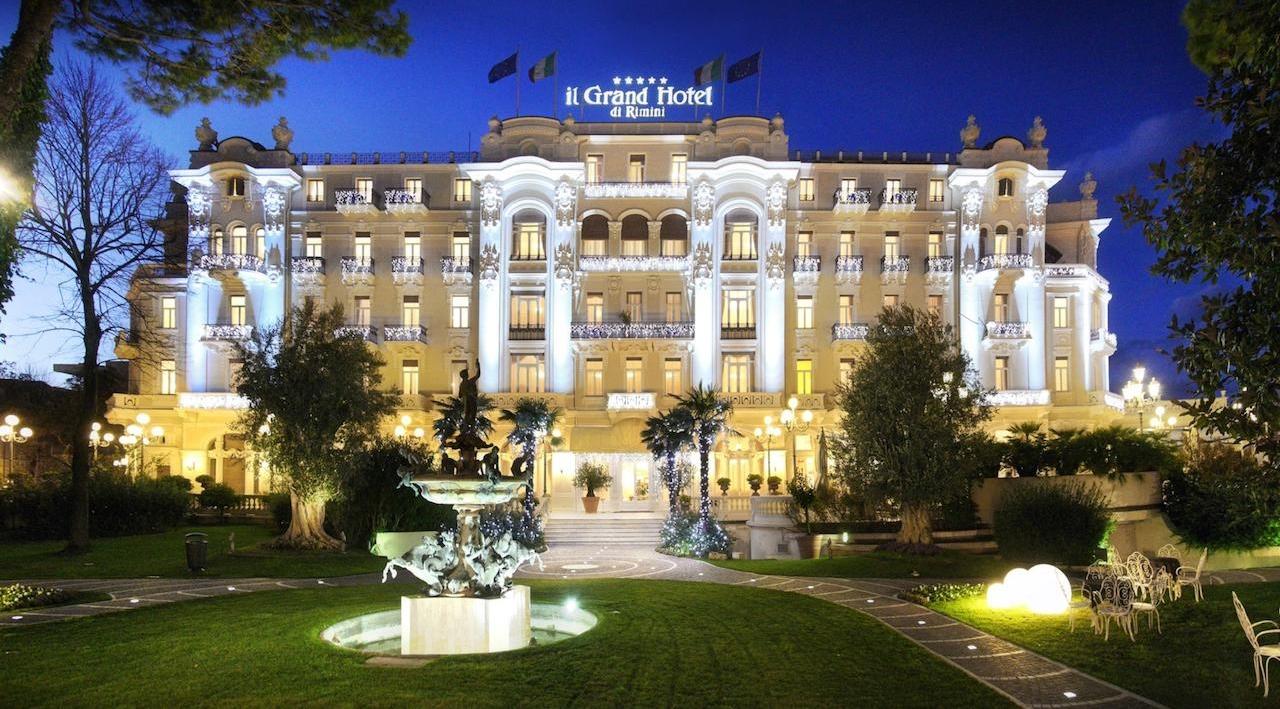 Se vienen festejos fellinianos en el Grand Hotel de Rimini