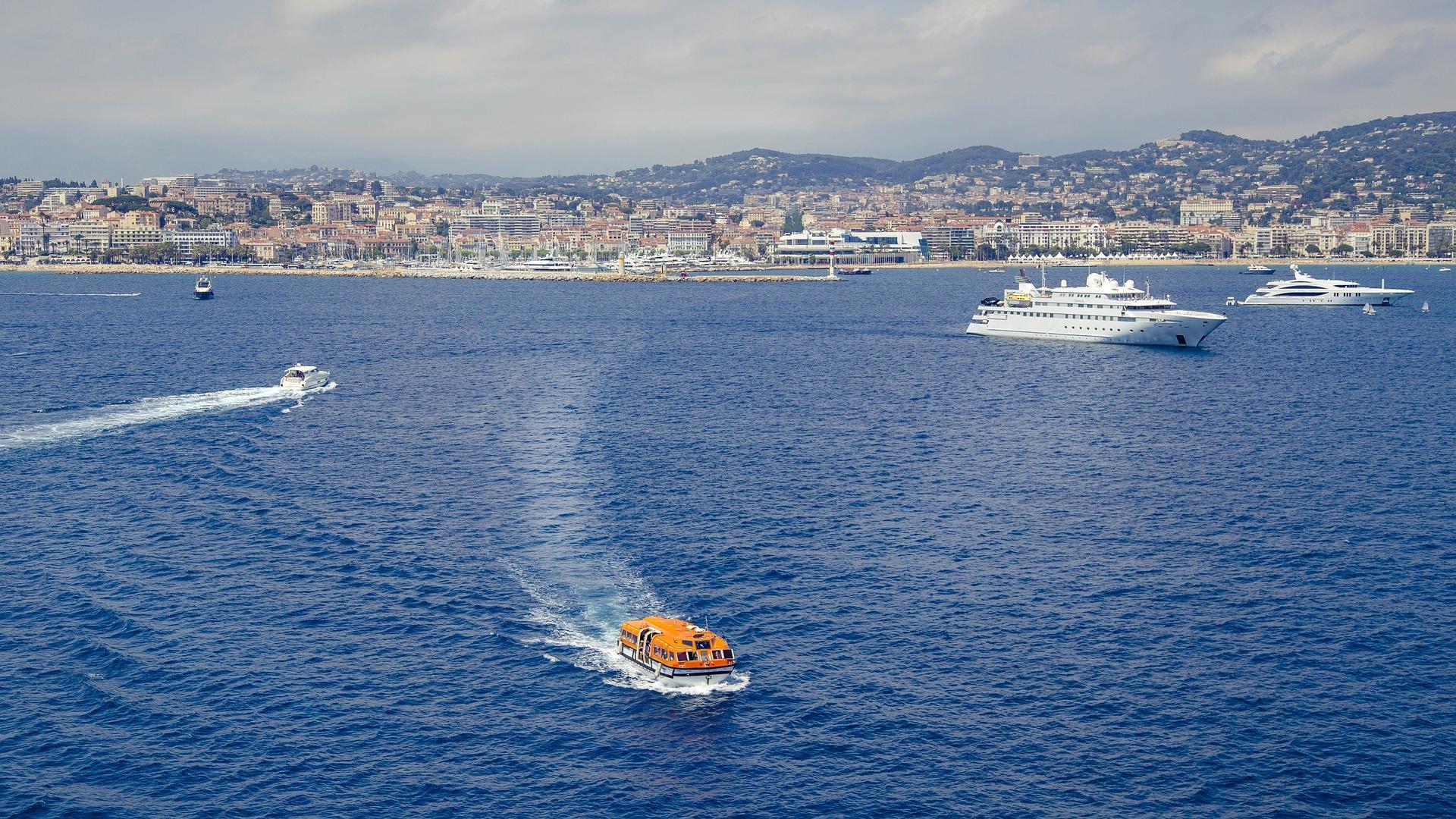 En Cannes, las próximas estrellas estarán bajo el agua