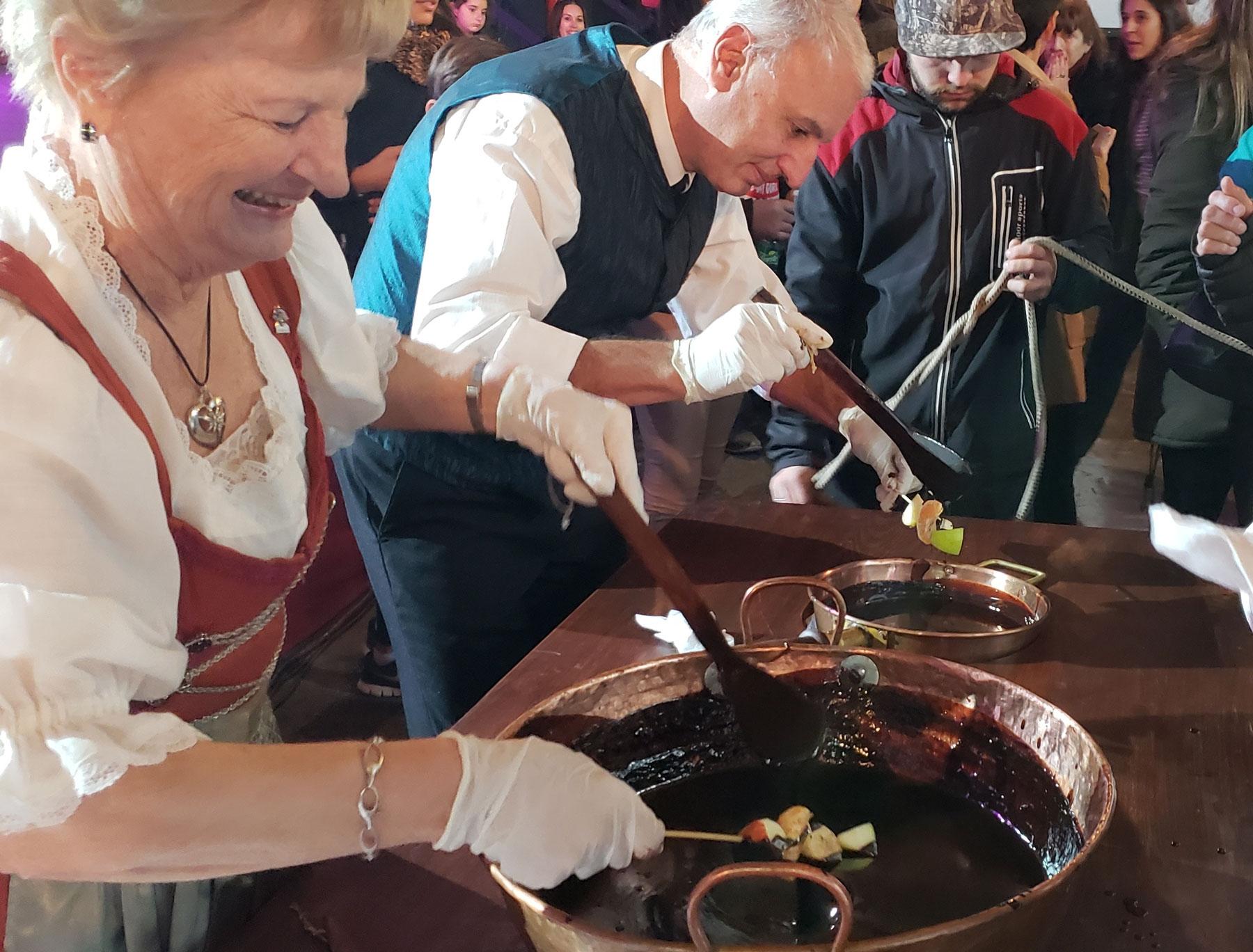 Así es la fiesta del chocolate en Córdoba