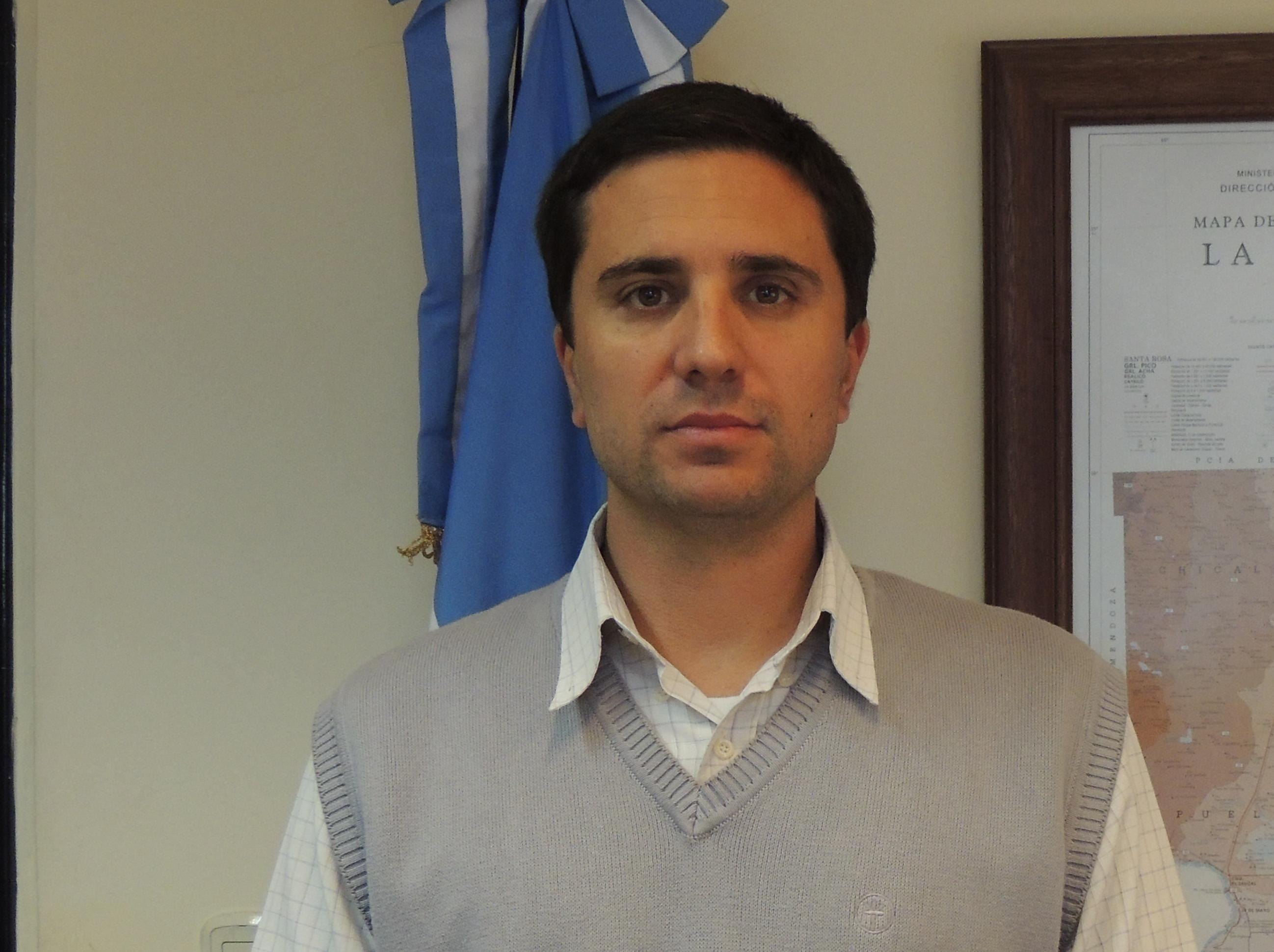 Lautaro Córdoba Subsecretario de Turismo de la provincia de La Pampa