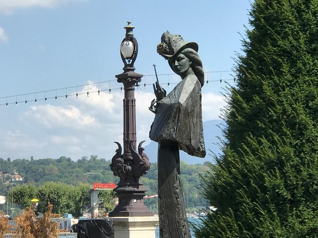 Un recuerdo para Sissi a orillas del lago de Ginebra
