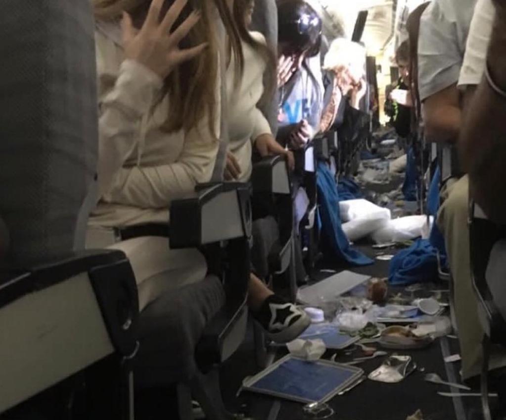 Un gran susto en un vuelo de Aerolíneas