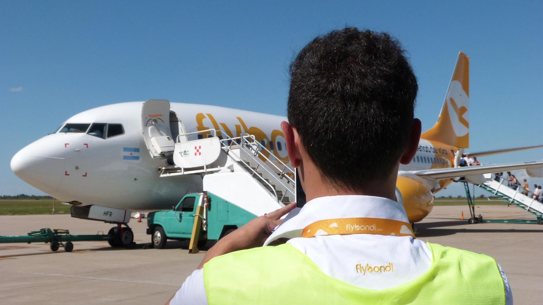 Flybondi empieza a volar a Asunción