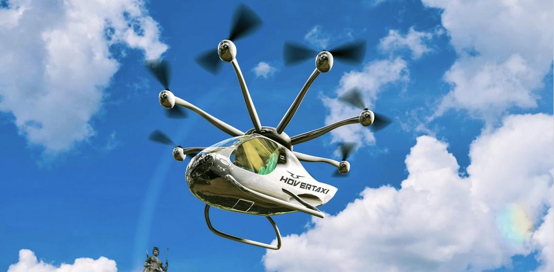 En 2022: ¿los primeros taxis aéreos?