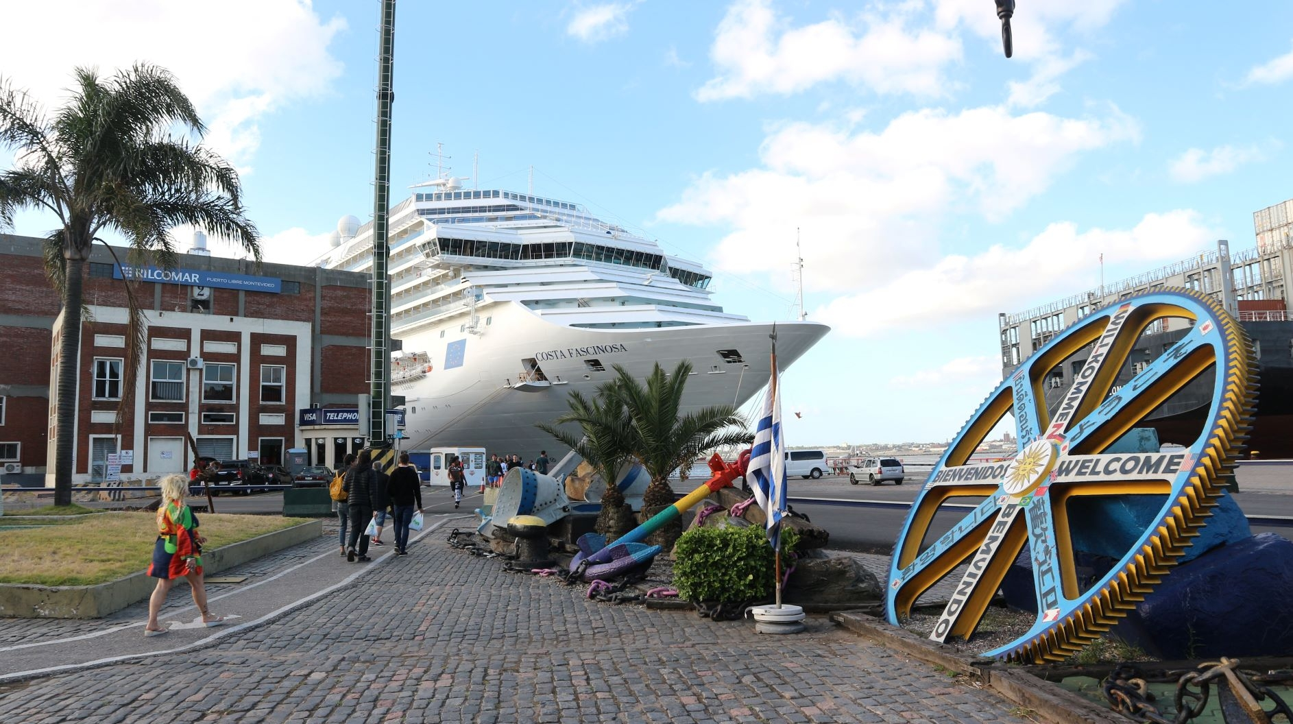 Costa zarpará desde Montevideo en diciembre 2019