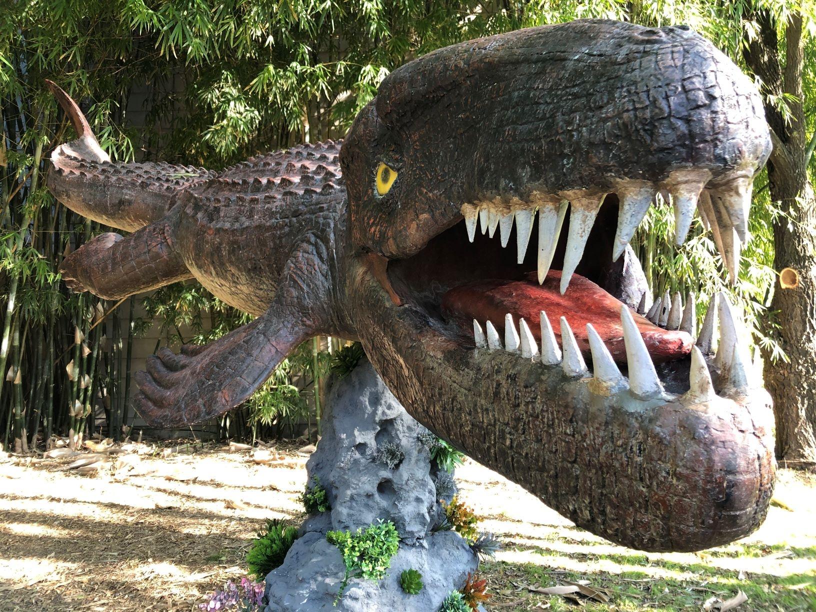 Monstruos marinos en Temaikèn