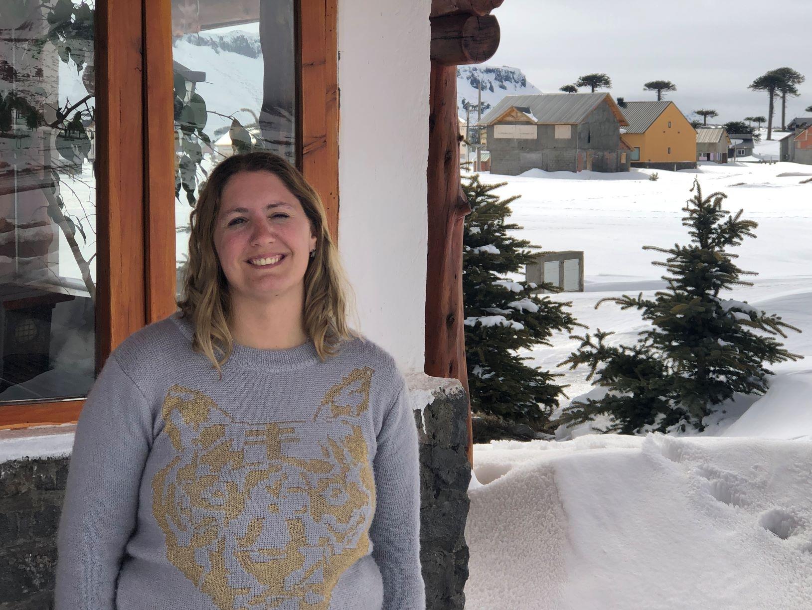 Sofia D'Amato  Directora de Turismo de Caviahue