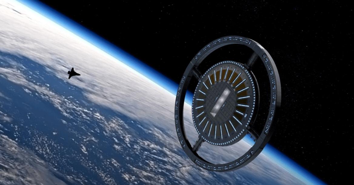 Abrirán hoteles en el espacio a partir de 2022