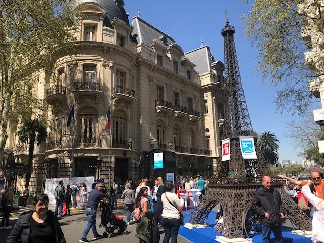 Una visita a la Embajada de Francia en Buenos Aires