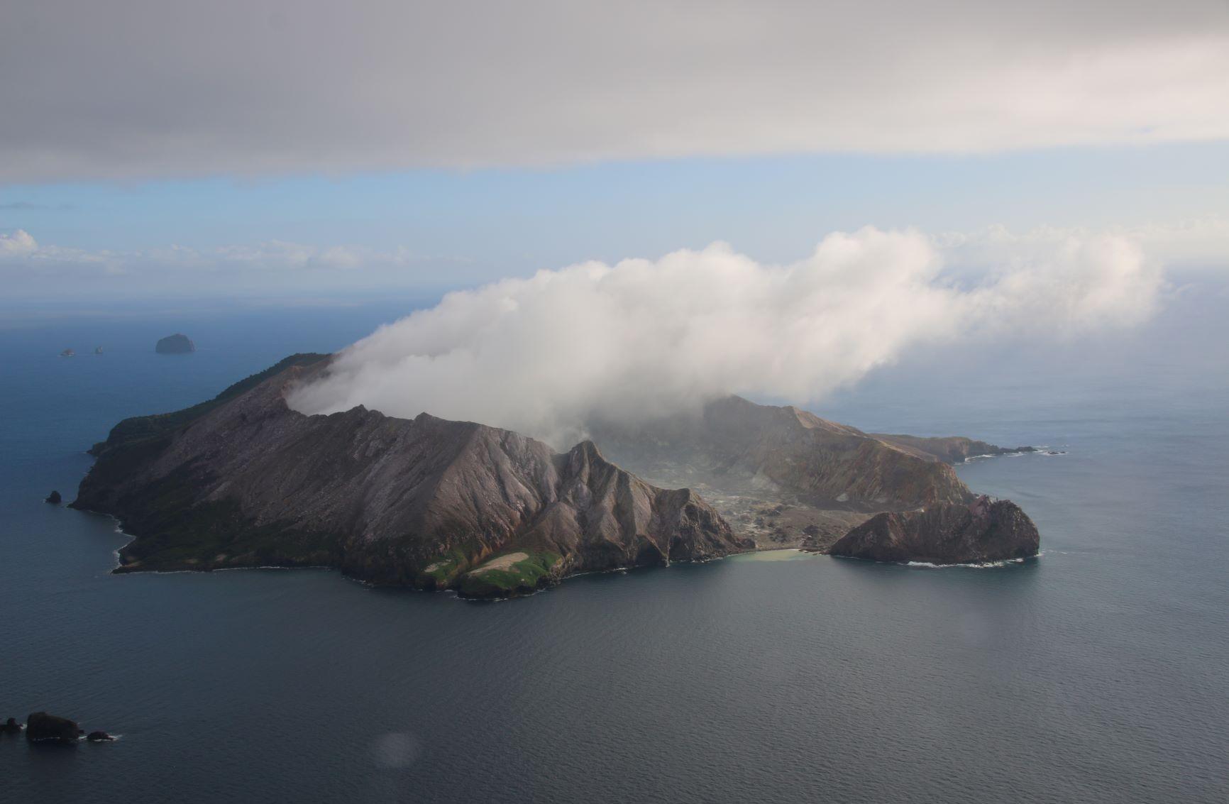 Como es White Island, la trágica isla volcánica de Nueva Zelanda