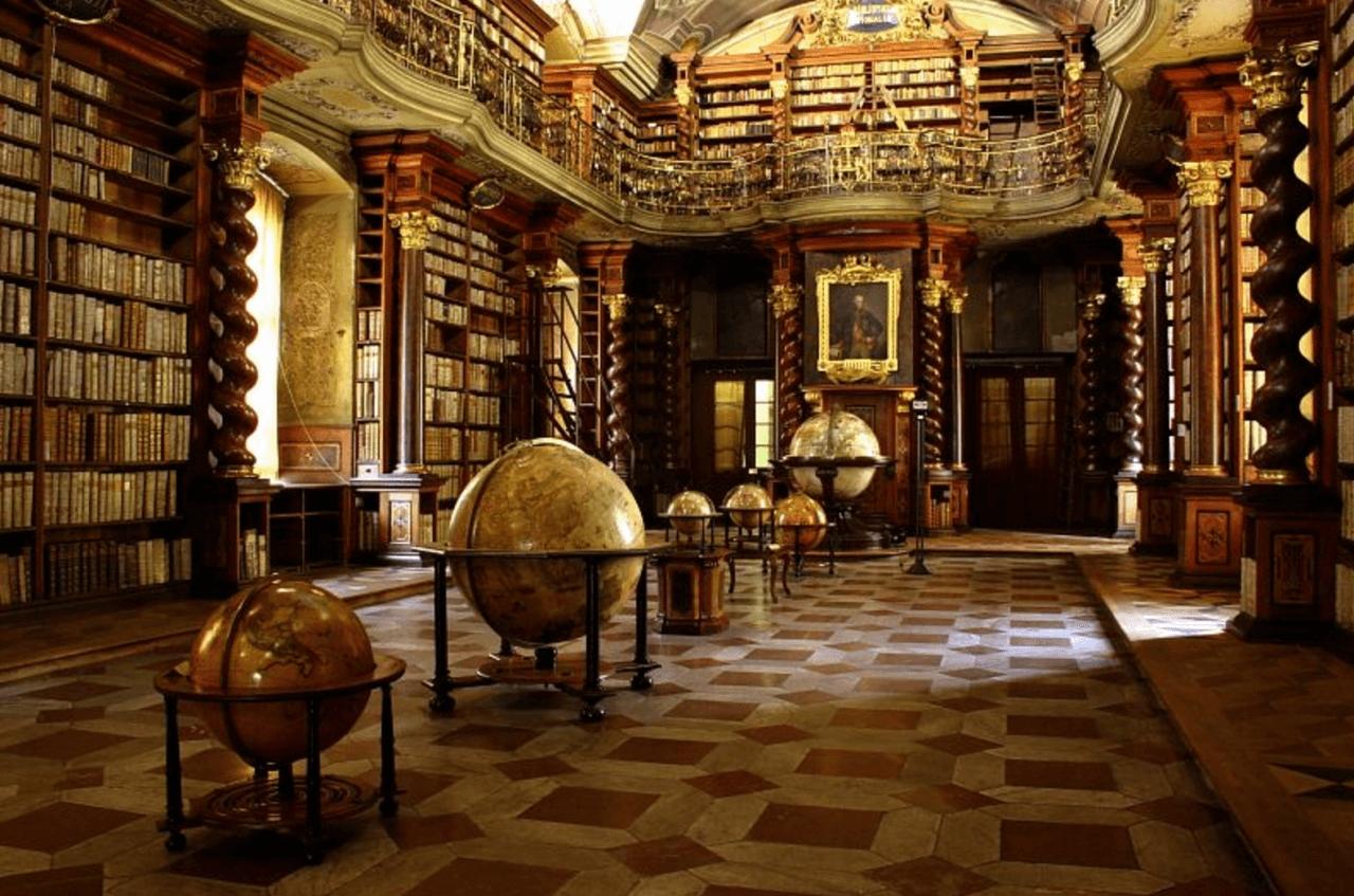 Durante la cuarentena: visitá una biblioteca barroca