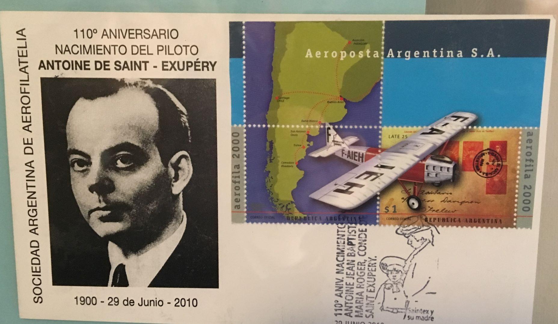 Saint-Exupéry en la Argentina