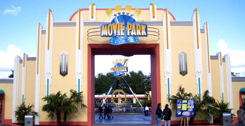 Una nueva montaña rusa en Movie Park