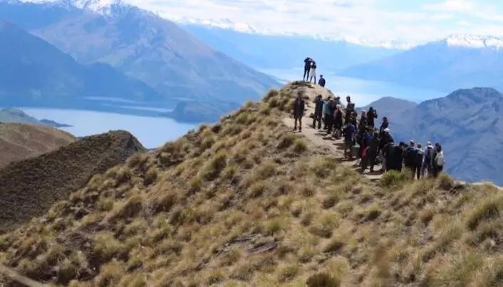 Cuando Nueva Zelanda se burla de las fotos de las redes sociales