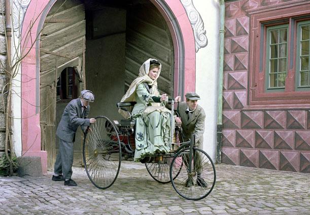 Bertha Benz hizo elprimer viaje en auto de la historia