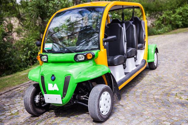 Eco-Auto, una manera nueva de recorrer la reserva y los bosques de Palermo