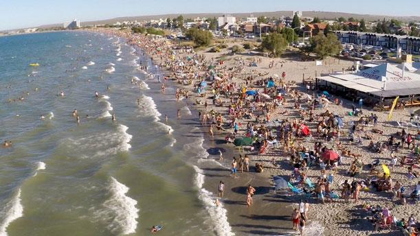 Playas y balnearios a orillas del Golfo Nuevo para el verano 2017