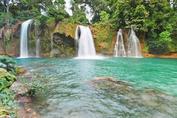 El Verde y el Azul en el norte de Chiapas, México