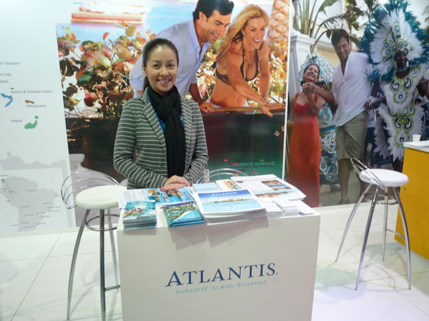 Juliana Hoyos, Leisure Sales Manager Latin America – Atlantis Paradise Island, Bahamas
