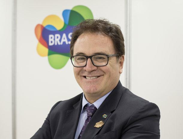 Vinicius Lummertz, Presidente del Embratur