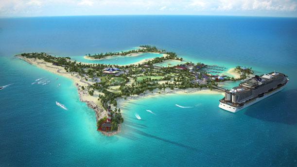 MSC Cruceros crea una reserva marina en una isla del archipiélago