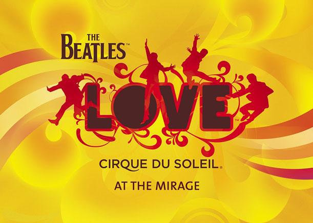 Décimo aniversario del show The BeatlesLOVE delCirque du Soleil