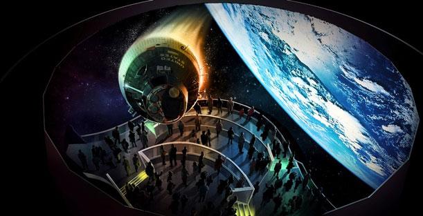 Héroes y Leyendas y U.S. Astronaut Hall of Fame