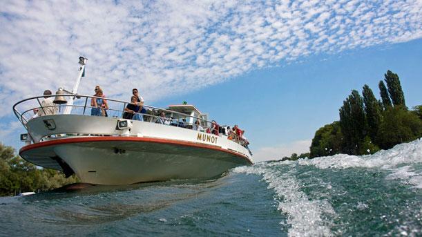 Barco-Stop a orillas del Río Rin