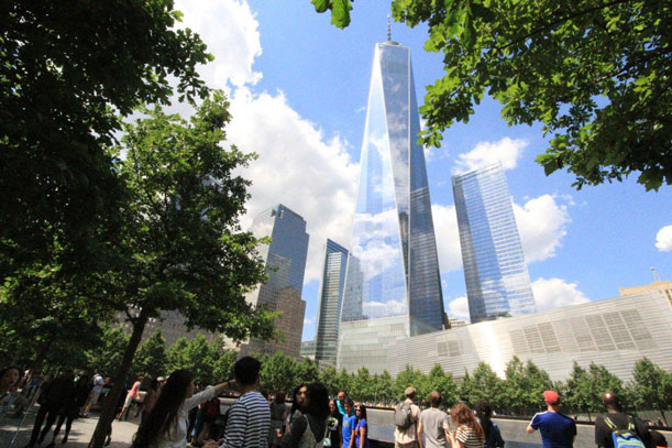El Lower Manhattan se ha renovado en torno al One World Trade Center