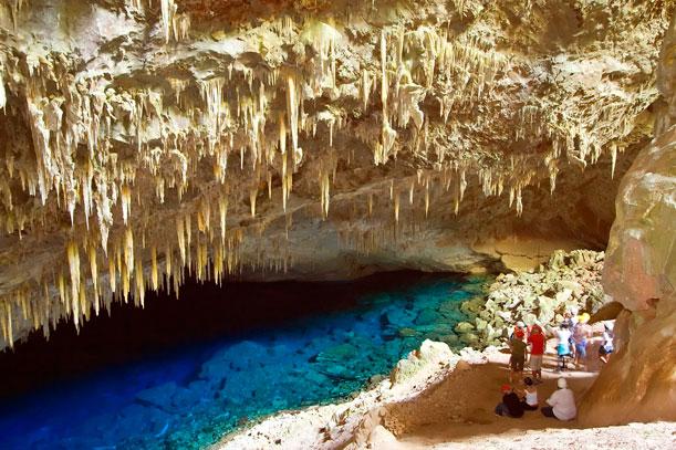 Un costado inédito de Brasil: turismo en cuevas y grutas