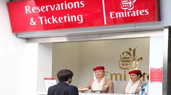 Ticket Office de Emirates