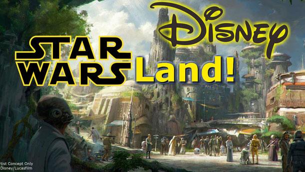 Un nuevo parque dedicado a Star Wars