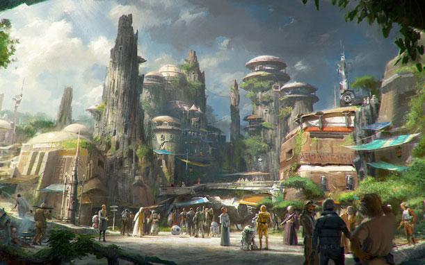 Habrá un nuevo parque de Star Wars en Orlando