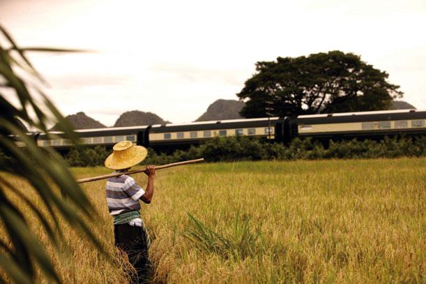 En tren de lujo de Tailandia a Singapur