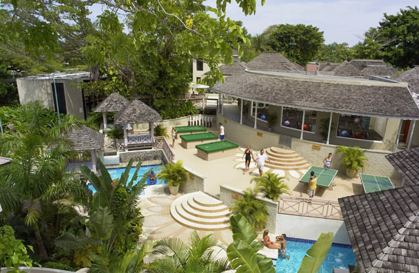 Una fiesta todo el año en el resort deJamaica
