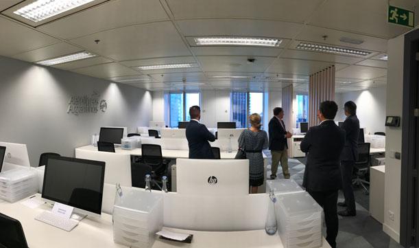 La compañía inauguró una nueva sede corporativa en España para Europa