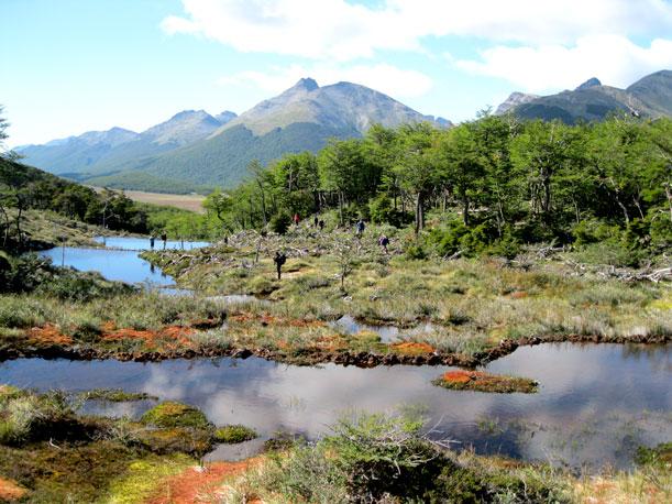 Inaugurado sendero a la laguna Esmeralda