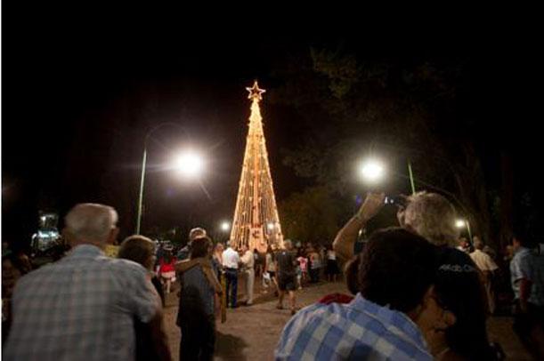 Fiestas navideñas en Villa General Belgrano