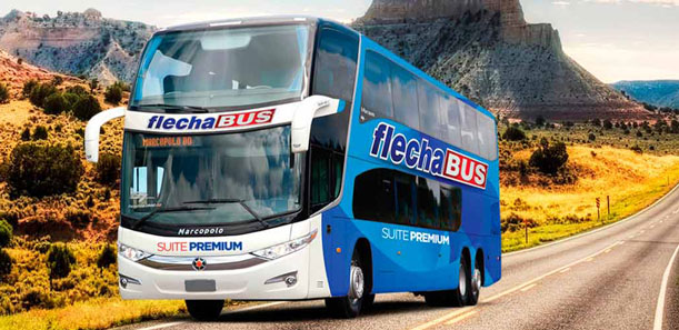 Promociones con pasión de Flecha Bus