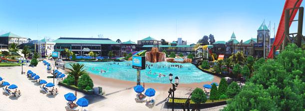 Nuevo Parque de Agua en Tigre
