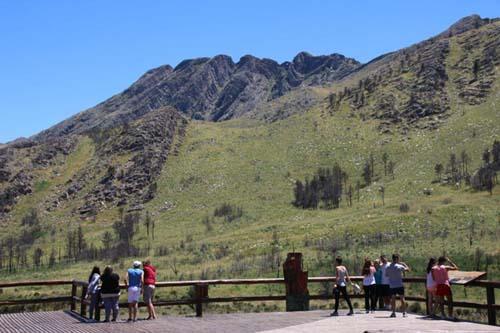 Circuitos de trekking en las cumbres de la pampa