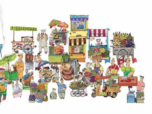 Feria de productores Semilla 2015 en General Roca