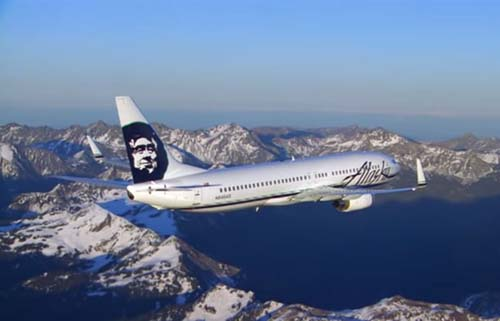 Platos de autor en Alaska Airlines