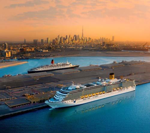 Nueva terminal de cruceros en el Emirato