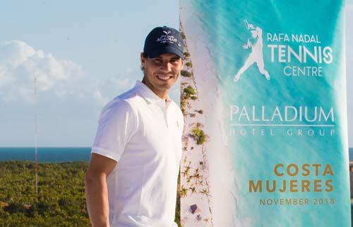 Abrirá un centro de tenis Rafael Nadal en México