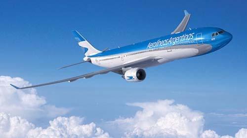 Aerolíneas Argentinas recibe nuevo avión