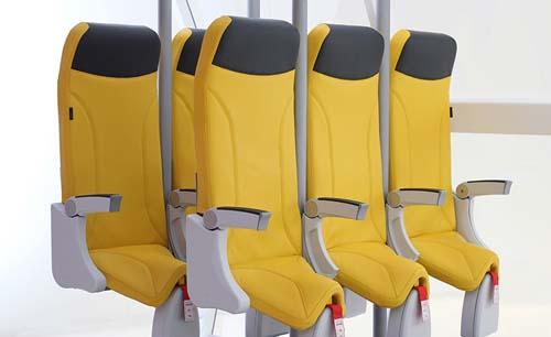 ¿Pronto se viajará parado en los aviones?